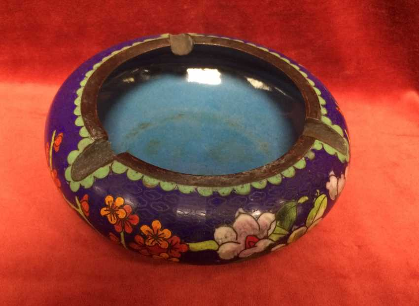 Cloisonne. Ashtray. China, XX century - photo 1