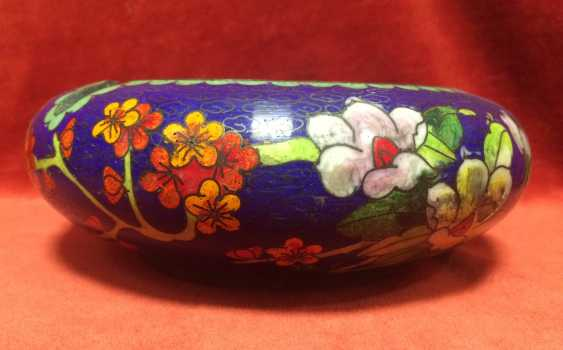 Cloisonne. Ashtray. China, XX century - photo 3