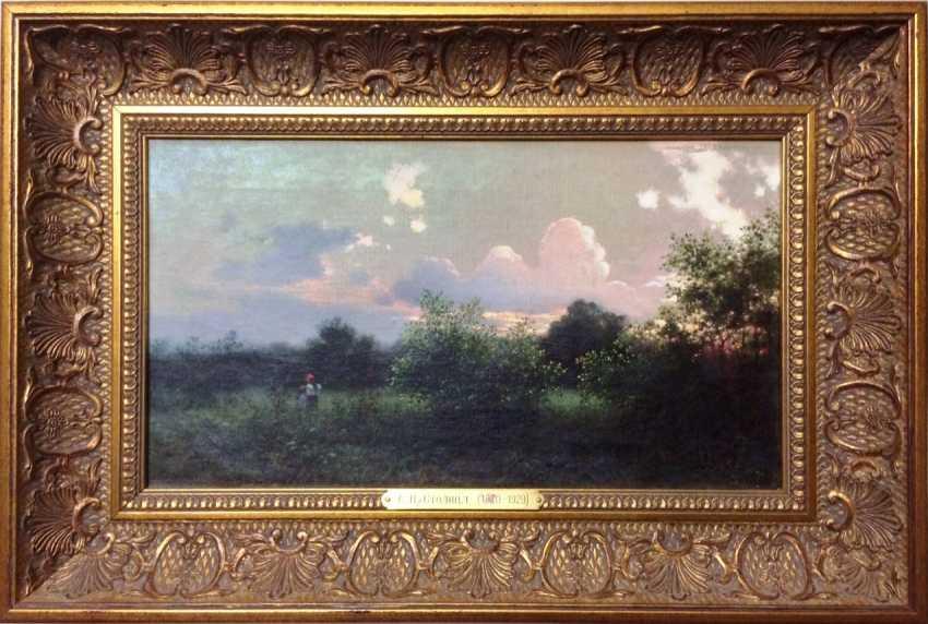 "The capital of ei ""Evening meadow"", XIX - n. XX centuries. - photo 1"