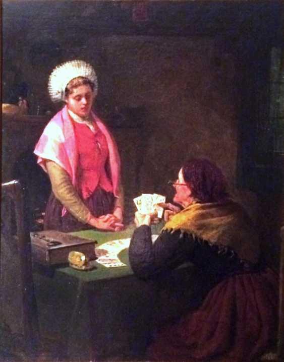 """William Morrison Wyllie . """"Fortune tellers"""", 1882 - photo 2"""