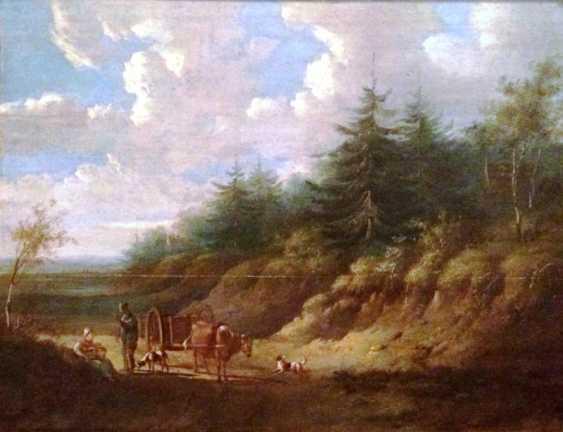 "Pieter Gerardus van Os. ""Rural landscape"", the beginning of the XIX century. - photo 1"