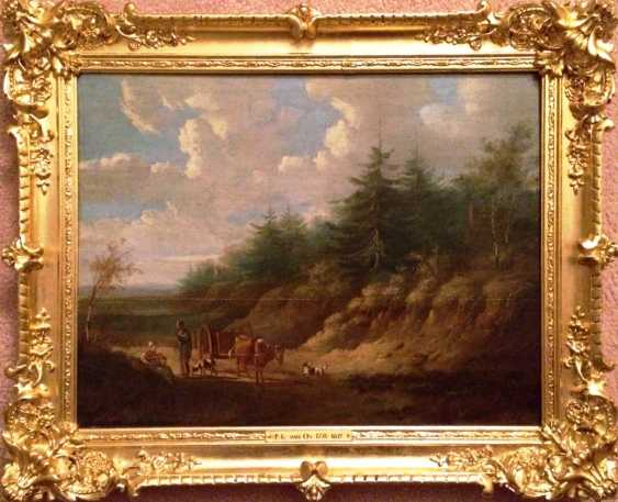 "Pieter Gerardus van Os. ""Rural landscape"", the beginning of the XIX century. - photo 2"