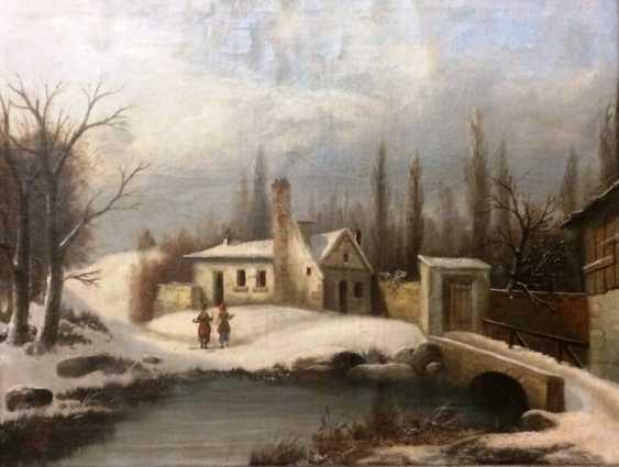 """F. Leger Hidalgo """"Walk"""", XIX century - photo 1"""