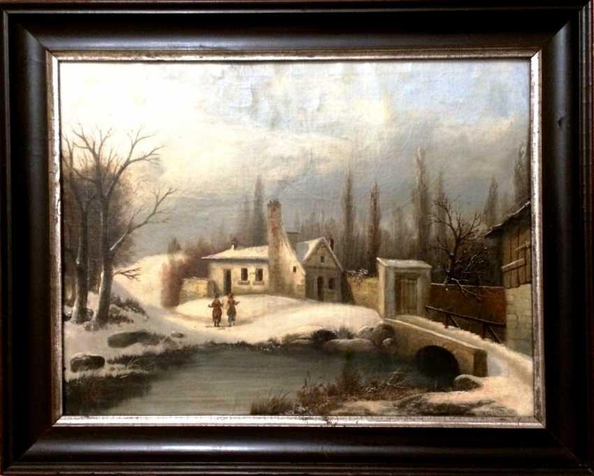 """F. Leger Hidalgo """"Walk"""", XIX century - photo 2"""
