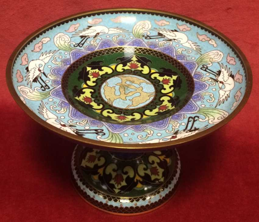 Cloisonne. The bottom. China, XIX century - photo 1