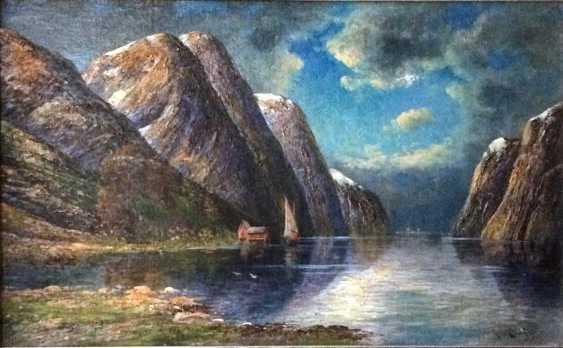 """Rescalli Don Angelo. """"Fjord"""", XIX - n. XX centuries. - photo 2"""