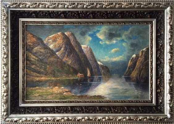 """Rescalli Don Angelo. """"Fjord"""", XIX - n. XX centuries. - photo 1"""