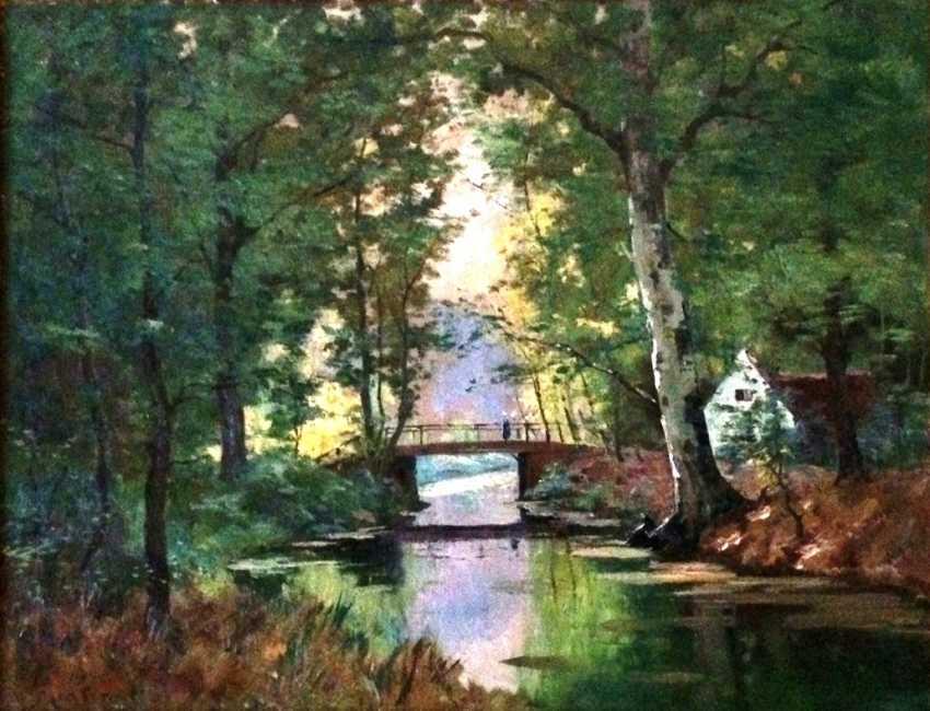 "Martin H. ""the Romantic landscape"", the nineteenth century. - photo 1"
