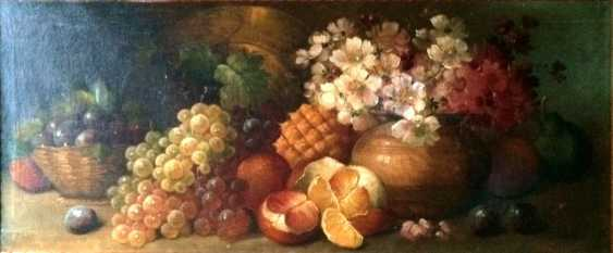 "Fournier, Louis Edouard Paul. ""Still life"", XIX century - photo 2"