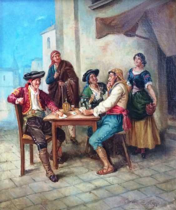"""Reckless gamblers"", XIX - n. XX centuries. - photo 1"