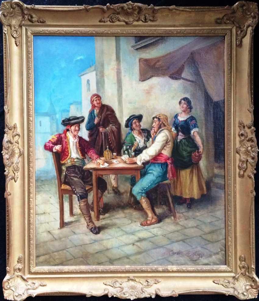 """Reckless gamblers"", XIX - n. XX centuries. - photo 2"