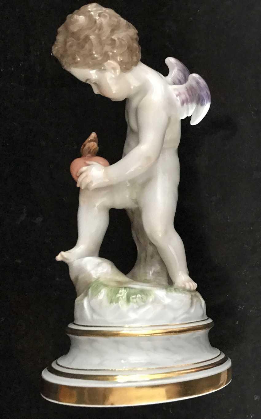 """Meissen """"Cupid, piercing the heart"""", in XIX - photo 3"""