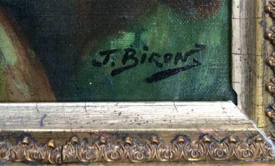 """Biron J. """"la jeune Fille au seigle"""", XIXE siècle - photo 4"""