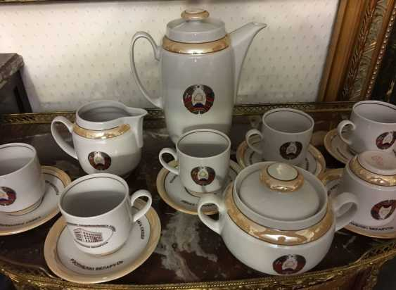 Exclusive. Presidential coffee service for 6, XX century. - photo 1