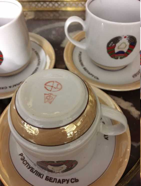 Exclusive. Presidential coffee service for 6, XX century. - photo 4