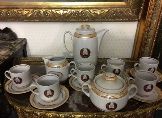 Exclusive. Presidential coffee service for 6, XX century. - photo 5