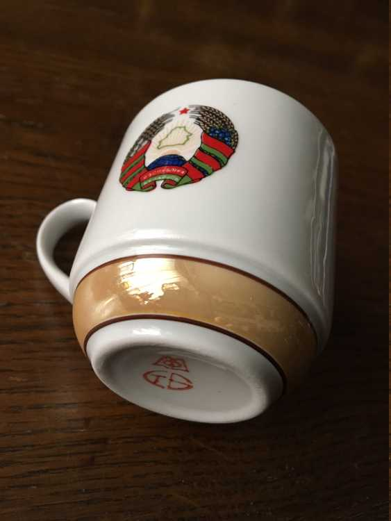 Exclusive. Presidential coffee service for 6, XX century. - photo 7