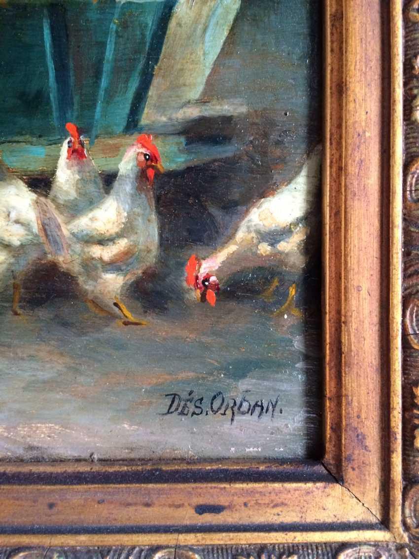 """Desiderius Orban. """"Bird house"""", 1st floor. XX century. - photo 2"""