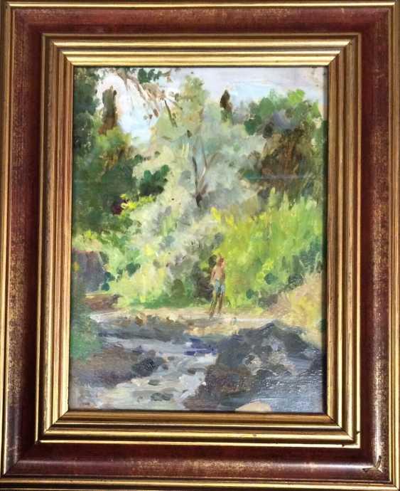 """Эрлер L. N. - """"Au bord du ruisseau"""", 1968 - photo 1"""