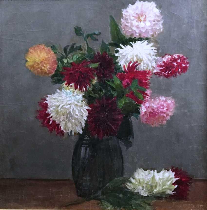 """G. N. Gorelov - """"Floral still life"""", 1963 - photo 3"""