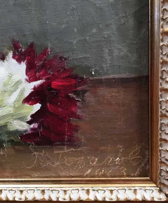 """G. N. Gorelov - """"Floral still life"""", 1963 - photo 2"""