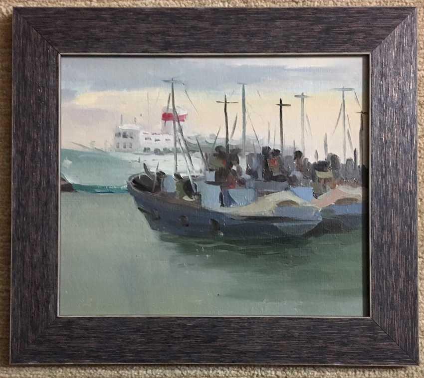 "Sucharipa N. F - ""In port"", 1950 - photo 1"