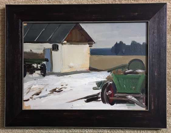 "Sucharipa N. F - ""the farm yard"", XX century. - photo 1"
