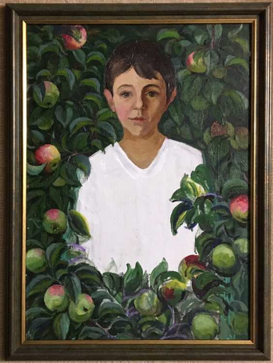 "Sucharipa N. F - ""Paradise apples"", XX century. - photo 1"