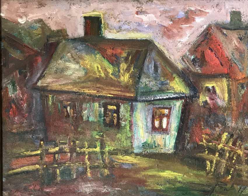 """Akulov V. I. """" Kolodishchi.House-Studio on the street Zaslonova"""", 2011 - photo 5"""