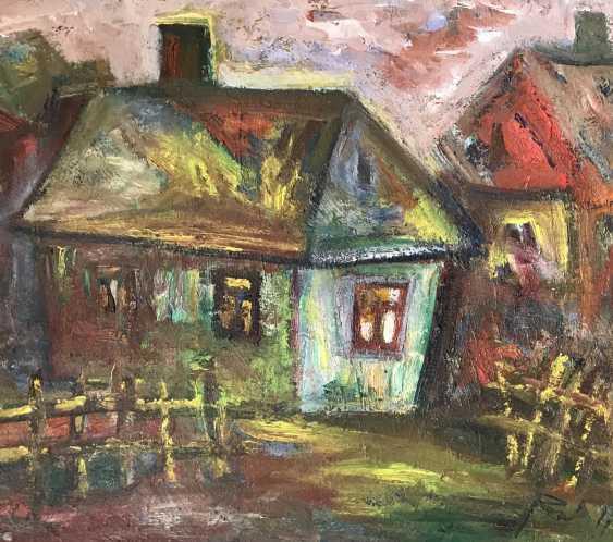 """Akulov V. I. """" Kolodishchi.House-Studio on the street Zaslonova"""", 2011 - photo 4"""