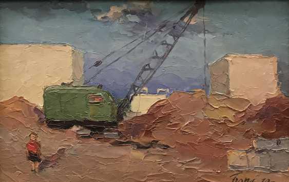 "Baranov, V. I., ""Svetlahorsk under construction"", 1970 - photo 3"
