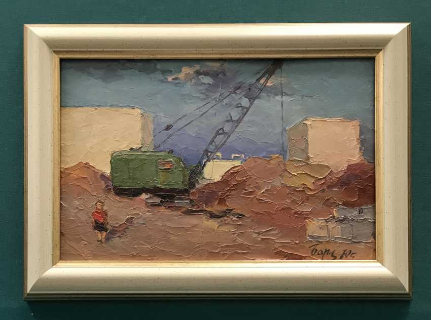 "Baranov, V. I., ""Svetlahorsk under construction"", 1970 - photo 1"