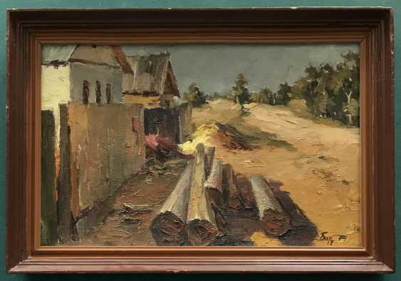 "Baranov, V. I., ""the Edge of the village the Torch"", 1974 - photo 1"