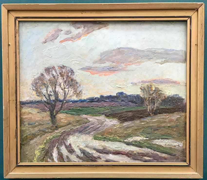 """Savitsky V. N. """"The road"""", 1985 - photo 1"""