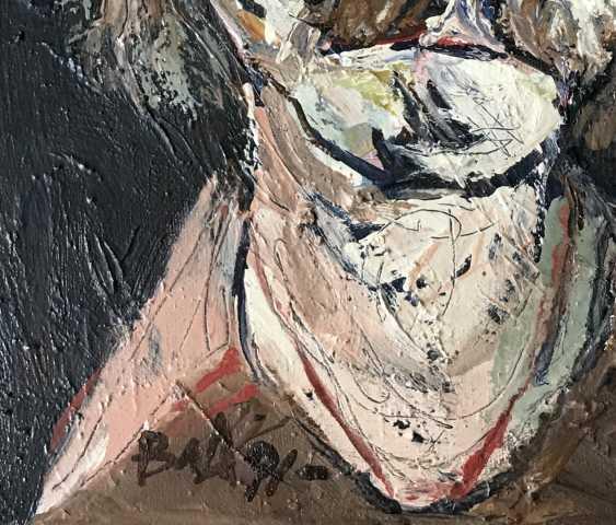 """Akulov V. I., """"self-Portrait"""", 1991 - photo 3"""