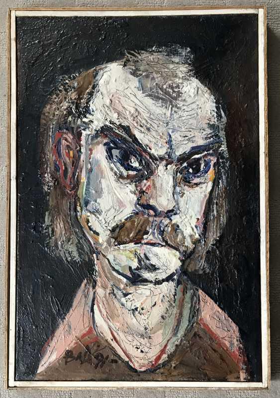 """Akulov V. I., """"self-Portrait"""", 1991 - photo 1"""