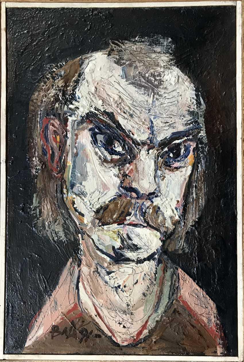 """Akulov V. I., """"self-Portrait"""", 1991 - photo 4"""