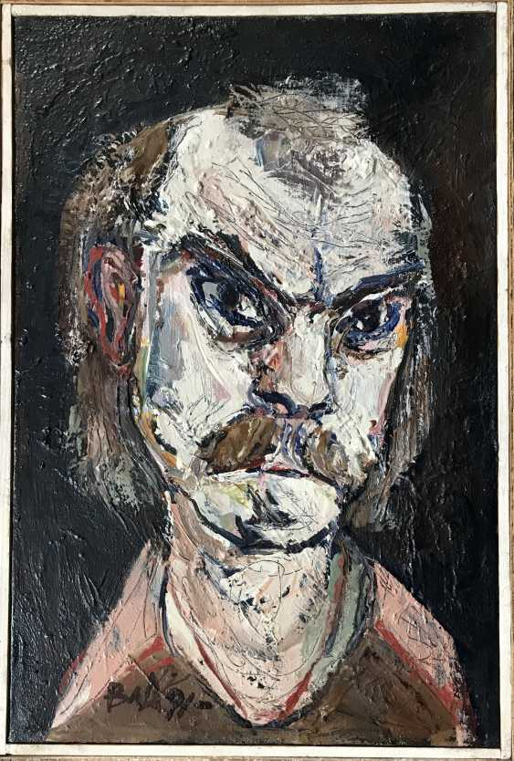 """Akulov V. I., """"self-Portrait"""", 1991 - photo 5"""