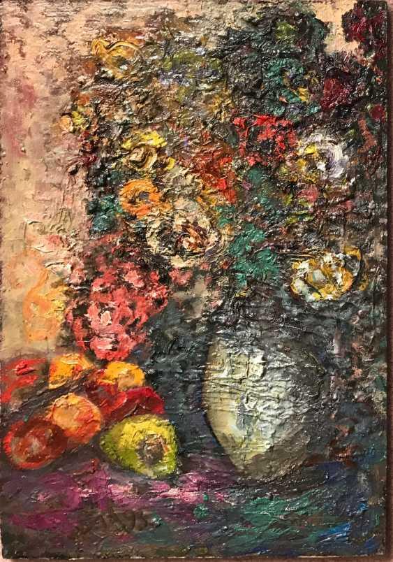 """Akulov V. I. """"Vase with flowers"""", 1993 - photo 1"""