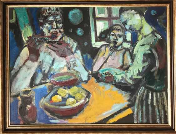 """A. M. Kischenko """"the Breakfast"""", 1988 - photo 1"""
