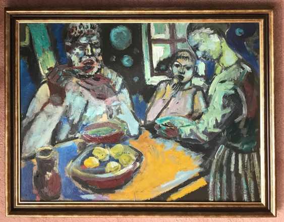 """A. M. Kischenko """"the Breakfast"""", 1988 - photo 5"""