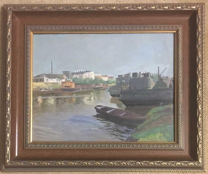 """Danelia P. A. """"Brest port"""", 1952 - photo 1"""