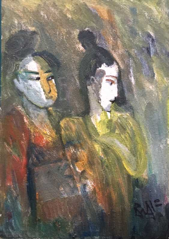 "Akulov V. I., ""the Japanese woman"", 2010 - photo 3"