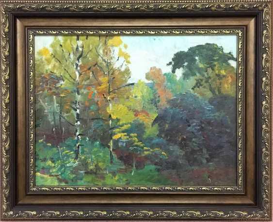 """Maslenykov P. V. """"Birch"""", XX century. - photo 1"""