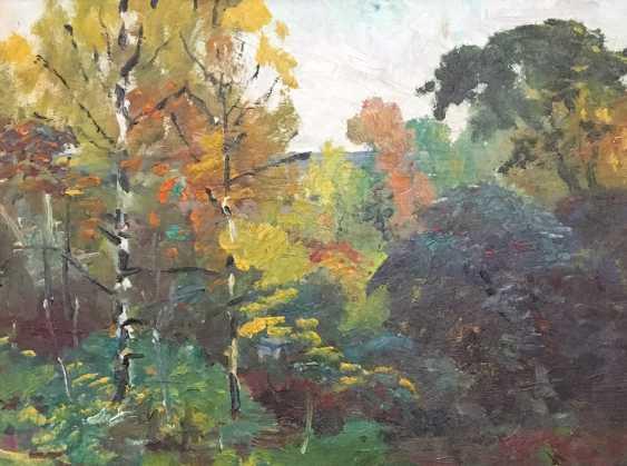 """Maslenykov P. V. """"Birch"""", XX century. - photo 2"""