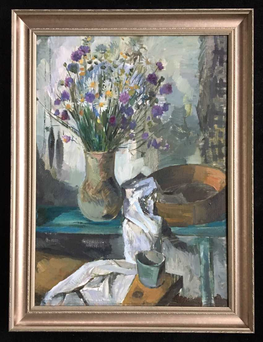 "Ligonenko, N. And. ""Still life with flowers"" - photo 1"