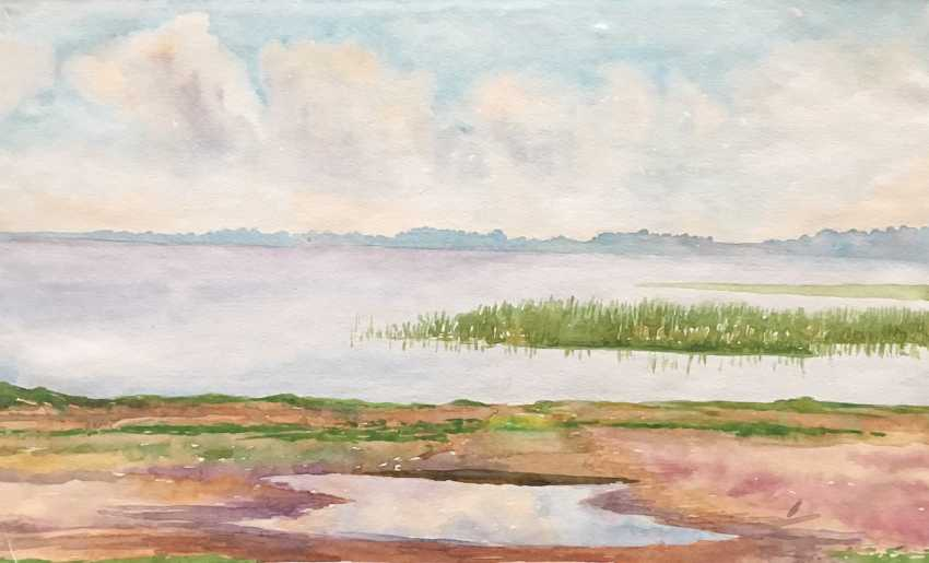 Zaitsev E. A. Painting, 1970s. - photo 3