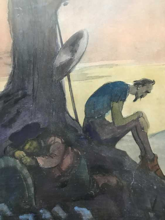 "Kukryniksy. Book illustrations of ""don Quixote and Sancho Panza"", the twentieth century - photo 2"