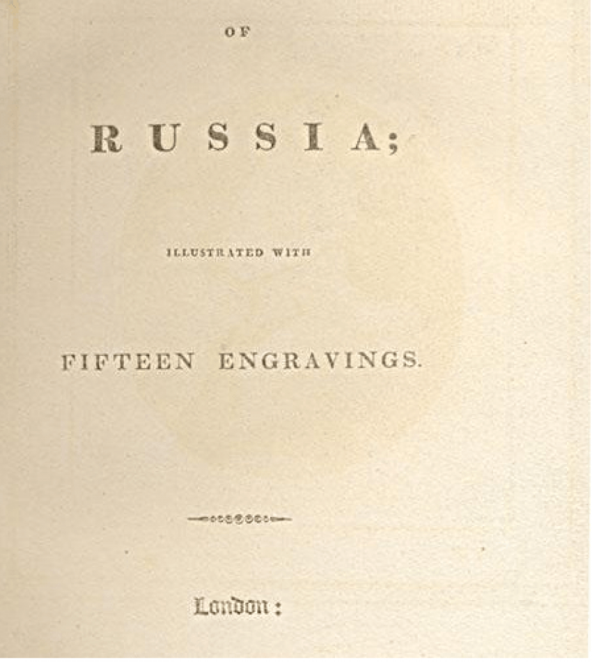 Notes on Russia: With 15 engravings - photo 3