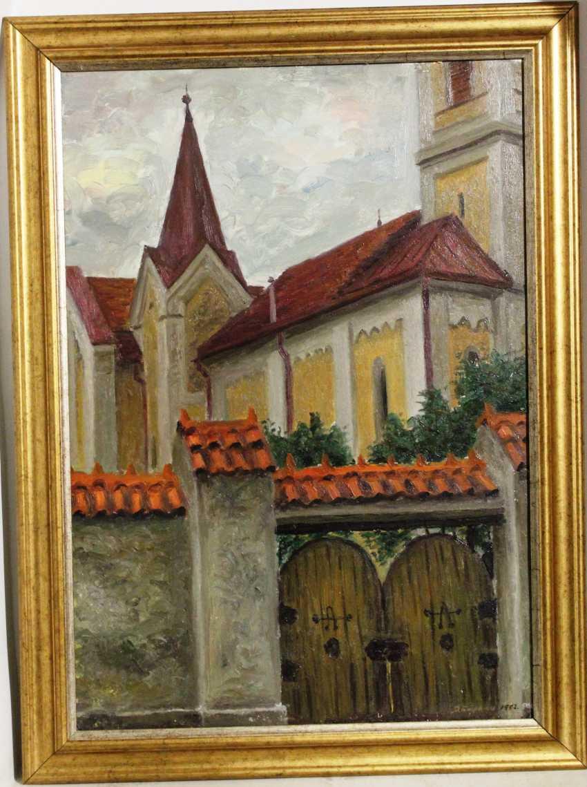 "E. Багрянцев. La ""vieille ville"", 1992 - photo 1"